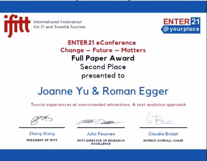 ENTER-Award